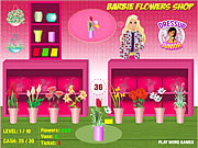 Barbie flowers shop j�t�k